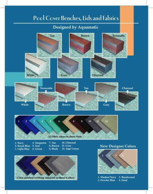 Aqua Matic Fabric Selections