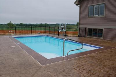 Image of New pool
