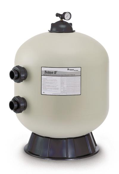 Pentair Triton II TR-100 Sand Filter, 30 Diameter Tank, valve sold seperately""