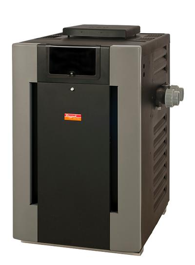 Raypak P-R206A Electronic Ignition Propane Gas Pool Heater (Cupro-nickel Exchanger)