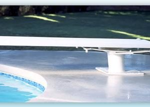 Inter-Fab 6' Techni-Beam Diving Board Including Techni-Spring Steel Dive Stand