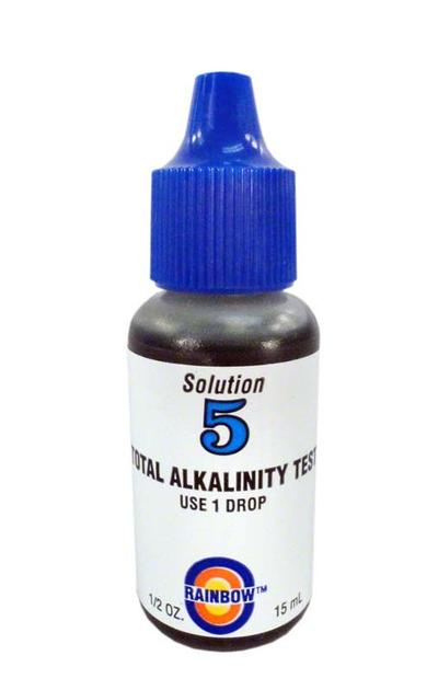 Rainbow Lifeguard #5 Test Kit Reagent Refill