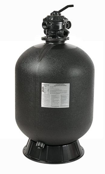 "Sta-Rite Crystal-Flo II 24 Diameter Tank, 1.5"" Multi port valve"""