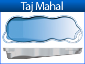 San Juan Taj Mahal Shallow (White or Sully Blue)
