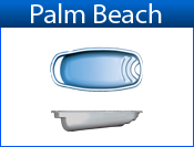 San Juan Palm Beach (White or Sully Blue)