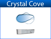 San Juan Crystal Cove (White or Sully Blue)
