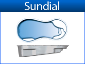 San Juan Sundial (White or Sully Blue)