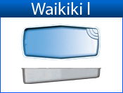 San Juan Waikiki I (White or Sully Blue)