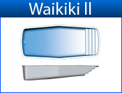 San Juan Waikiki II (White or Sully Blue)