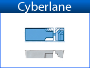 San Juan Cyberlane With Spa (White or Sully Blue)
