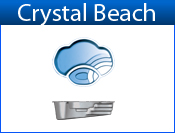 San Juan Crystal Beach (White or Sully Blue)