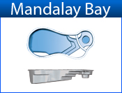 San Juan Mandalay Bay (White or Sully Blue)