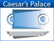 San Juan Caesar's Palace (White or Sully Blue)