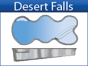 San Juan Desert Falls (White and Sully Blue)